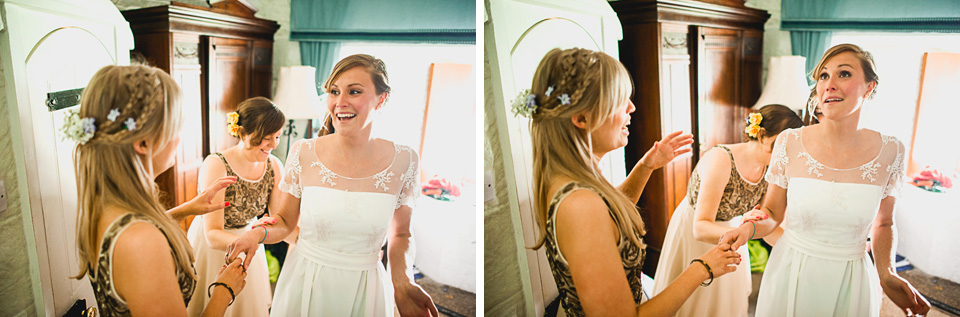 Weddings at Polhawn Fort Cornwall