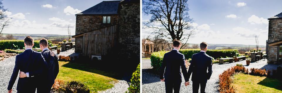 Gay Wedding Cornwall Photography Trevenna048