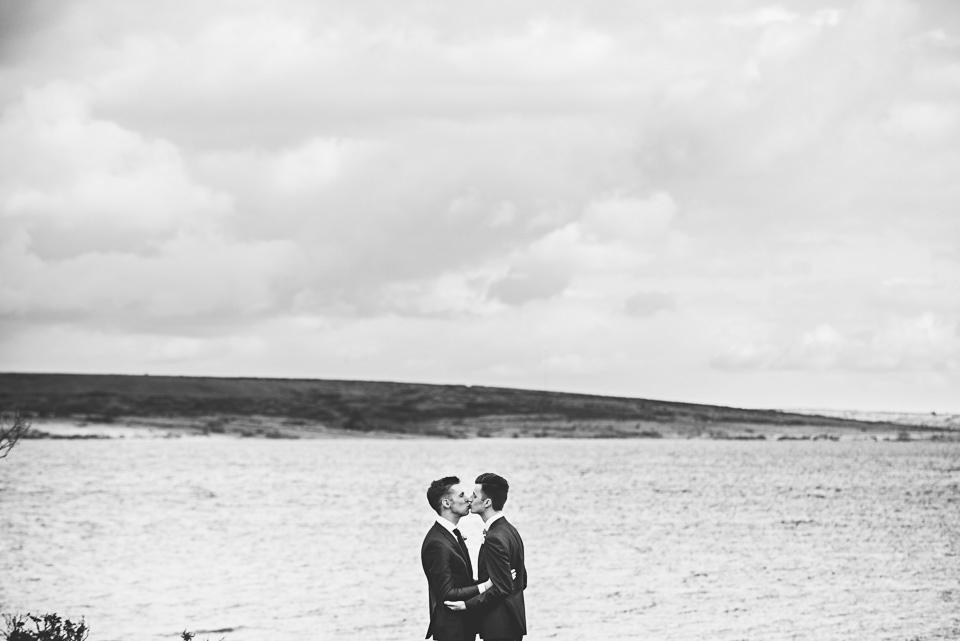 Gay Wedding Cornwall Photography Trevenna084