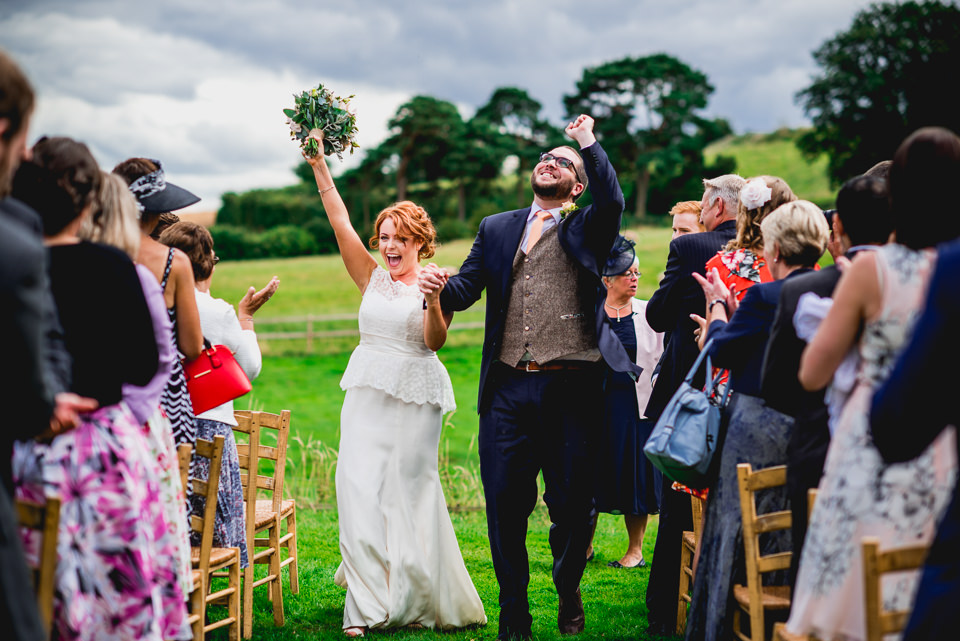 Fun Chilled Outdoor Wedding at Lyde Court Photography
