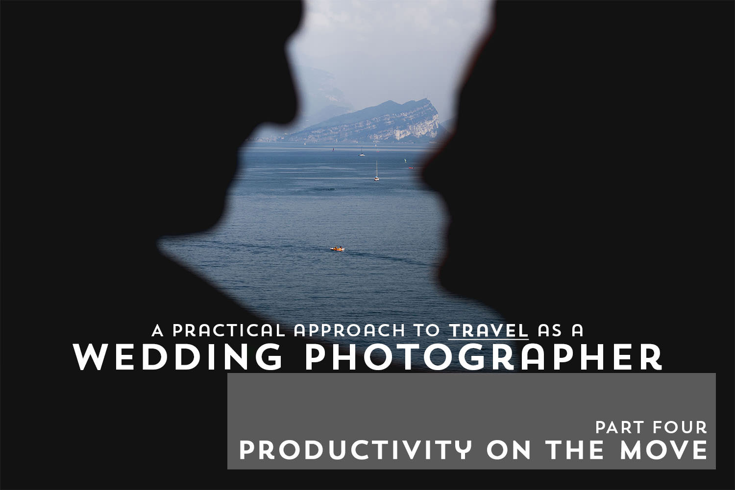 Best Destination Wedding Photographer Productivity on the move