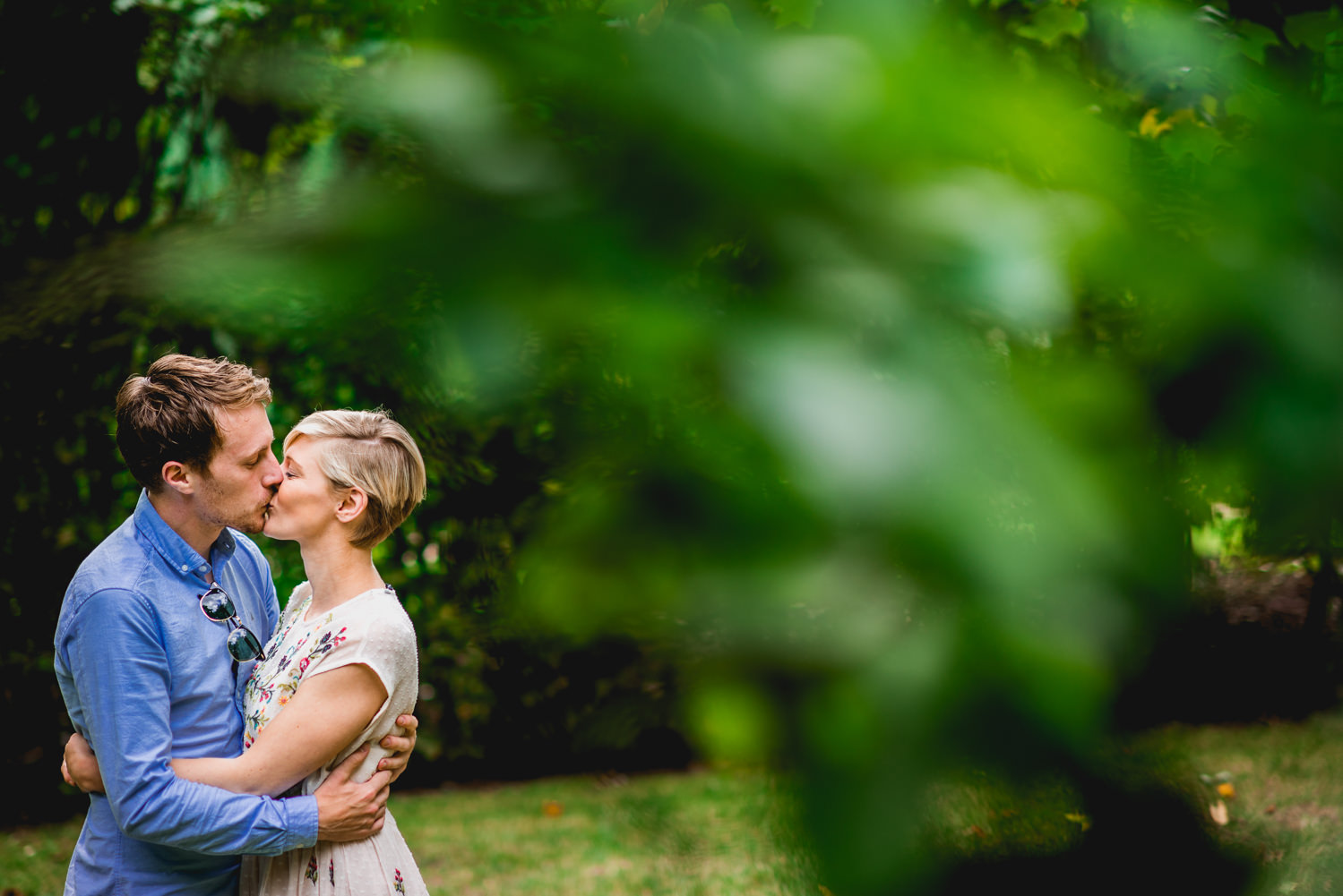Summer Wedding Engagement Photography London
