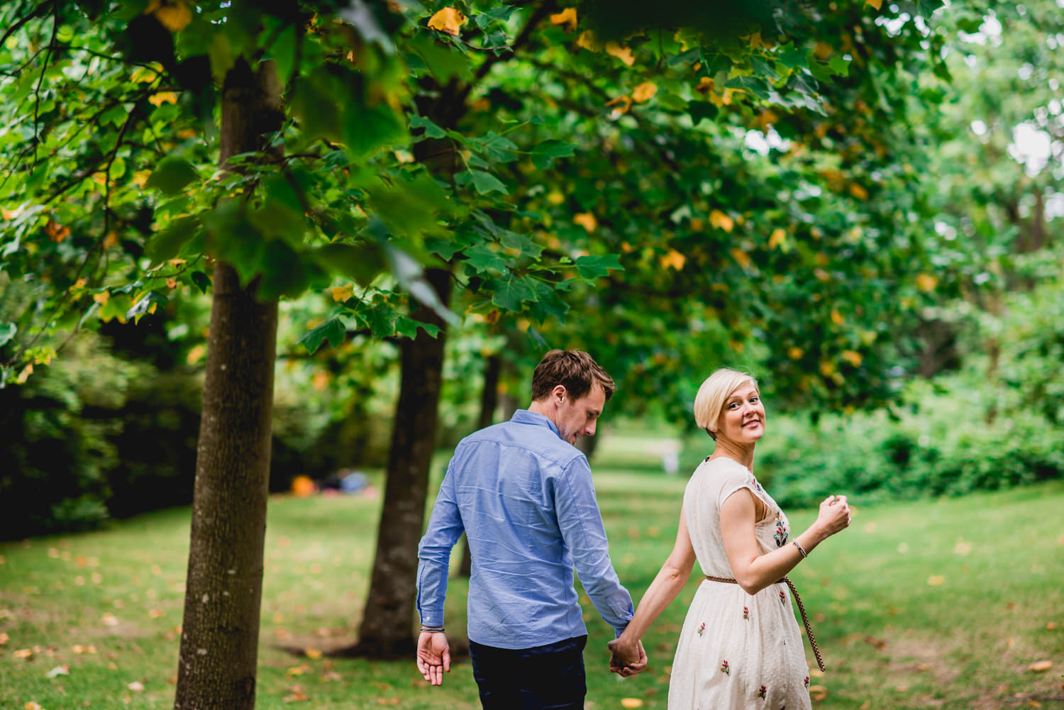 Summer Wedding Engagement Photography London Regents Park