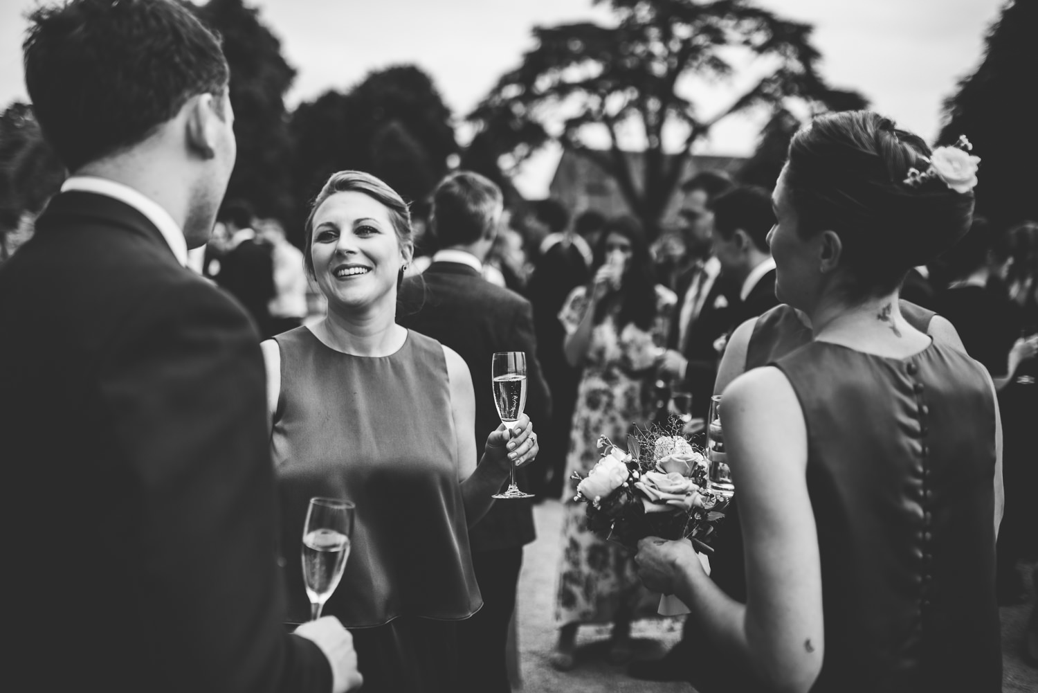 documentary wedding photography at st giles house