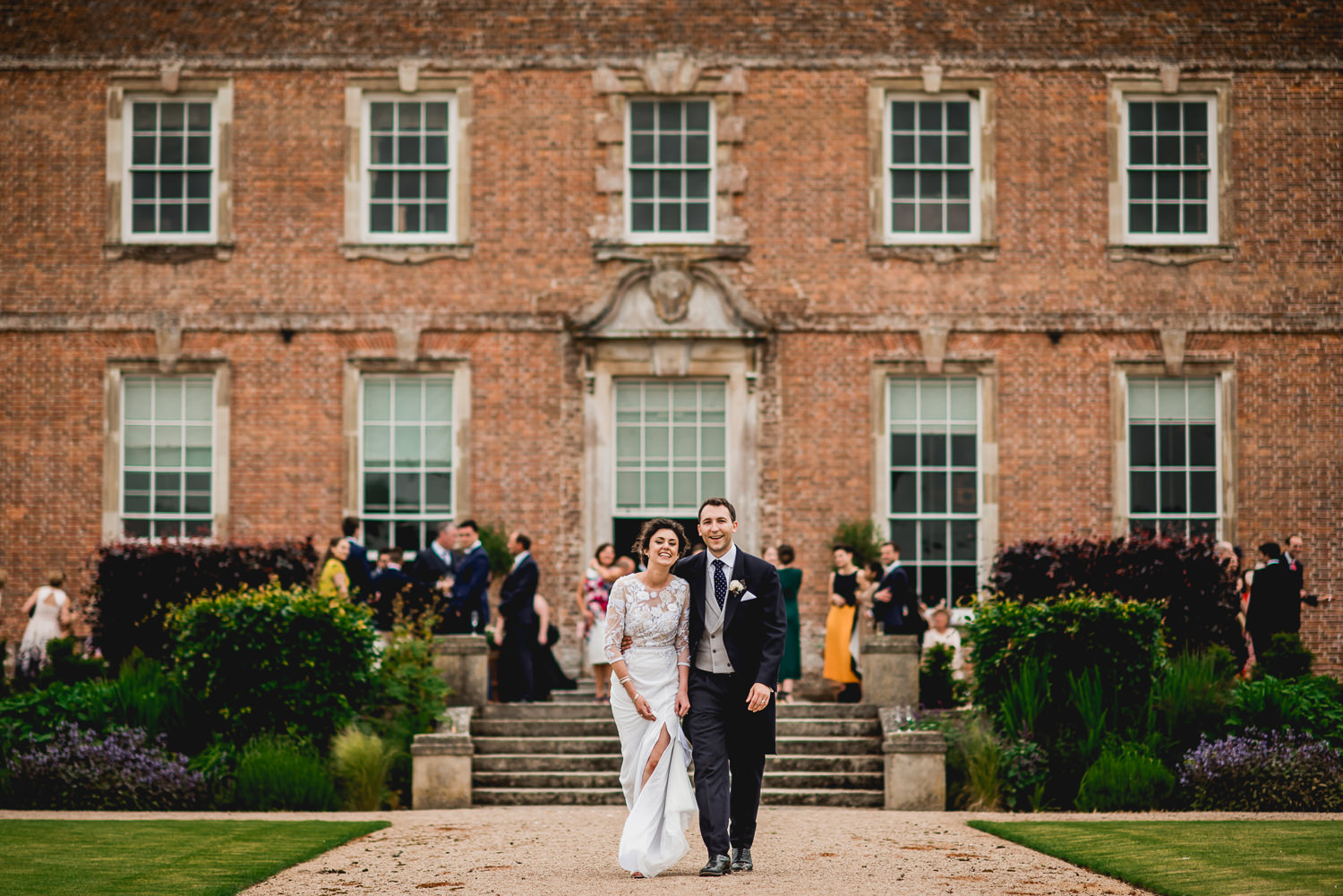 Couple Portrait at St Giles House Wimborne