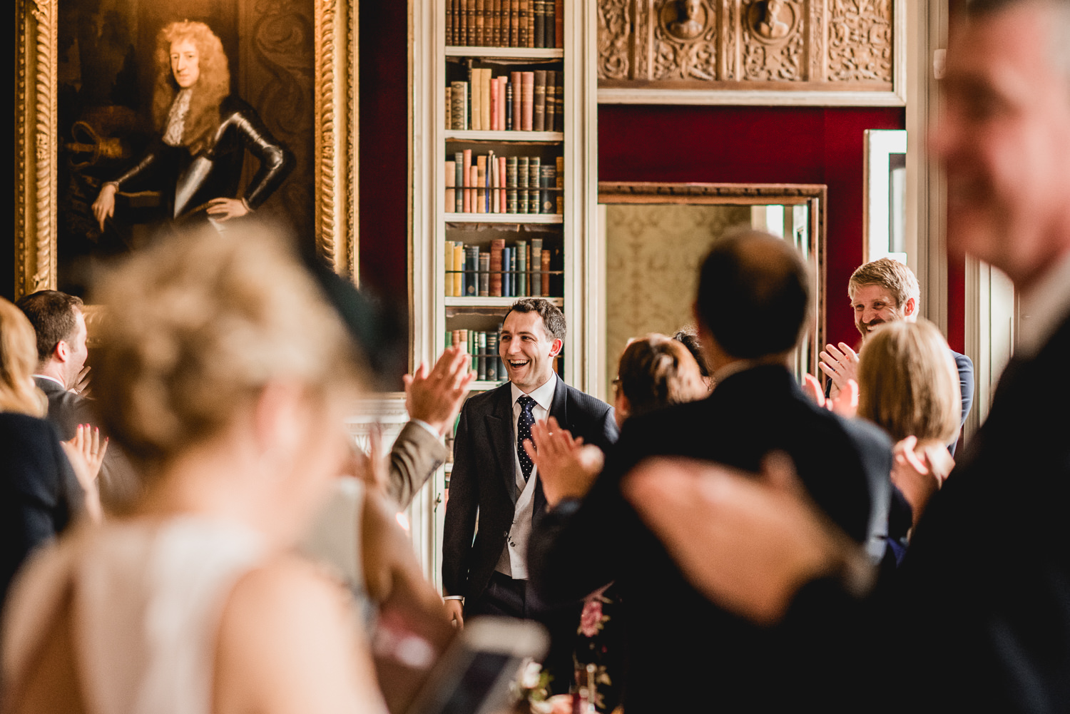 groom dinner room speech at St Giles House