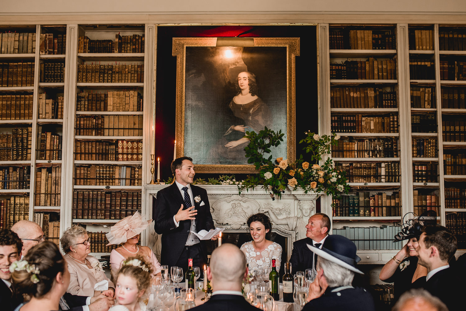 groom speech at St Giles House