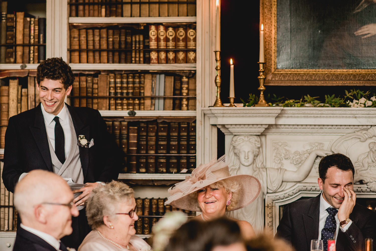 Bestman speech at St Giles House