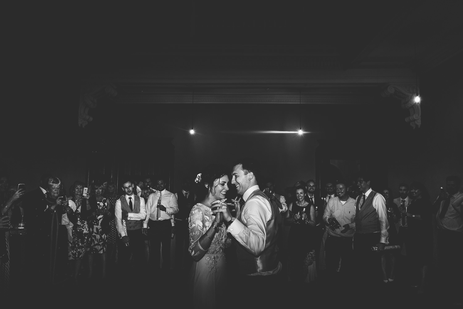 First dance photo at St Giles House