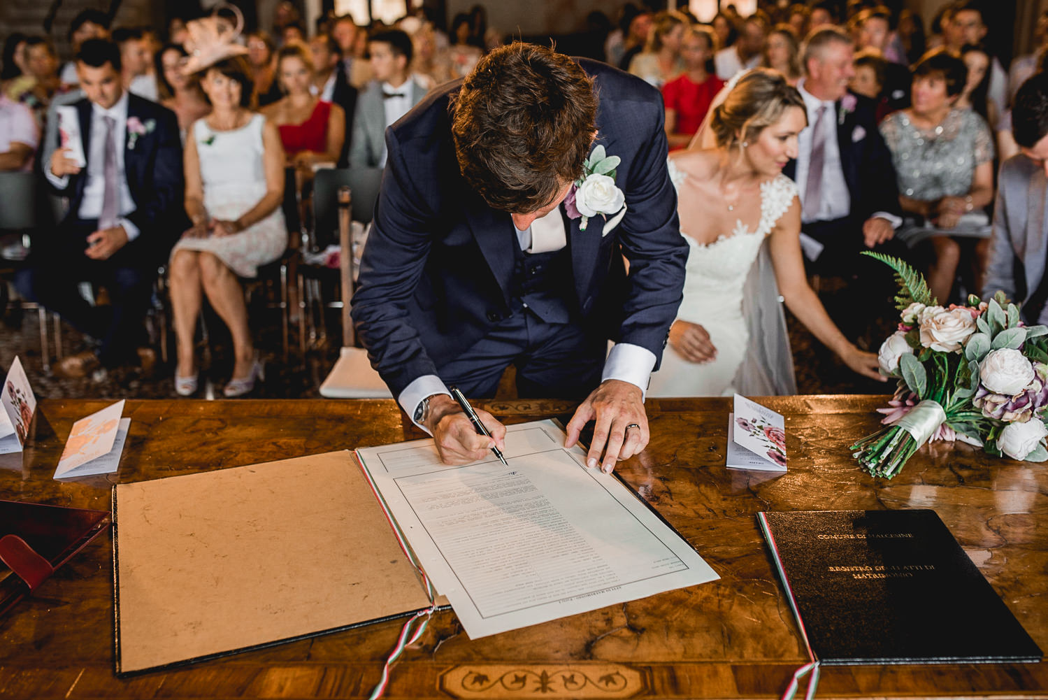 signing marriage italy