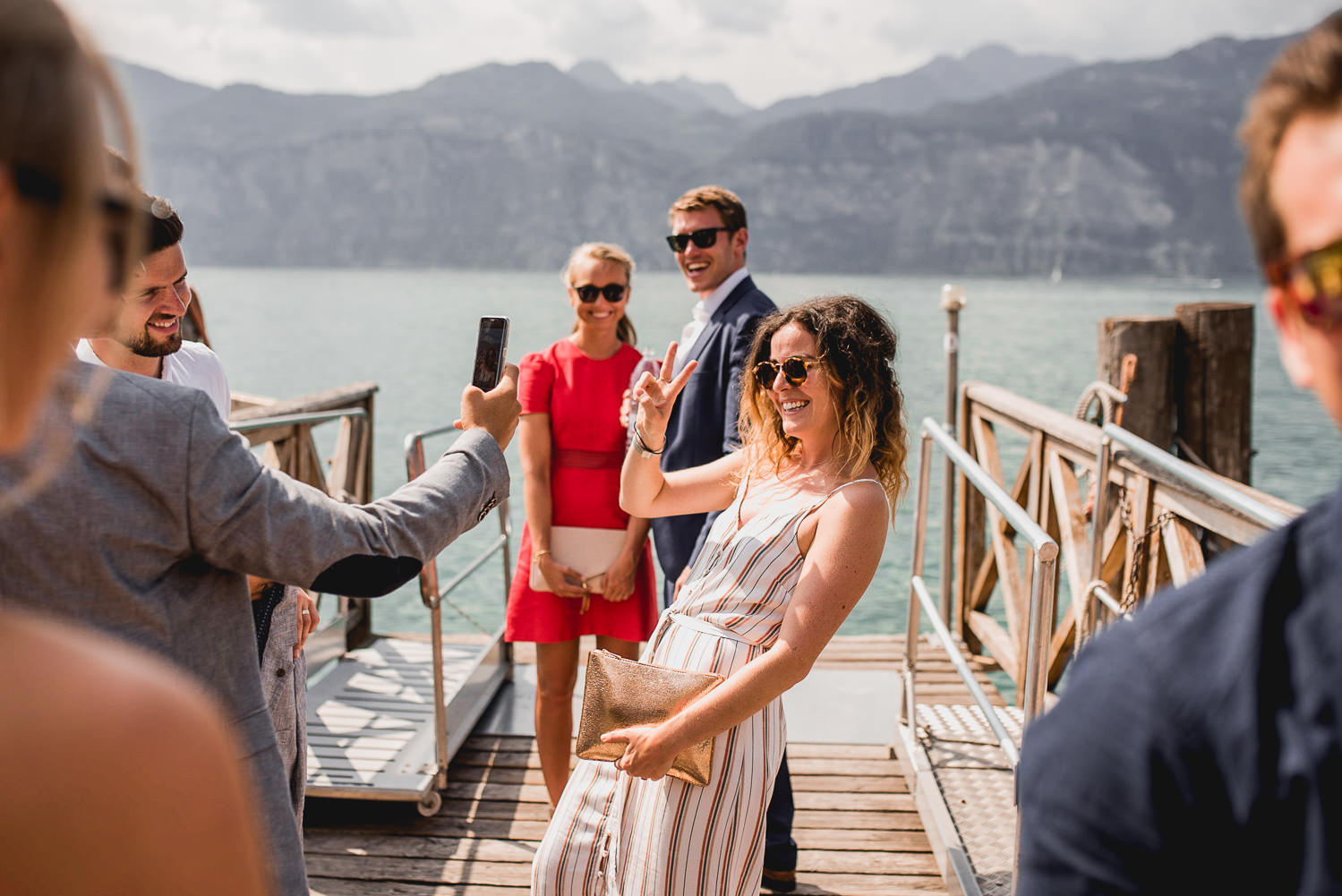 english wedding in Malcesine