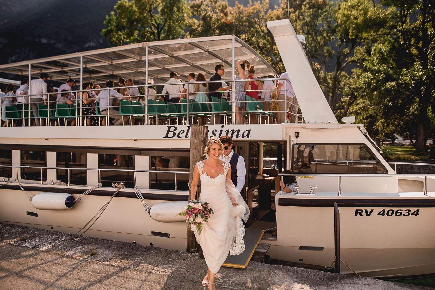 Boat Riva del garda