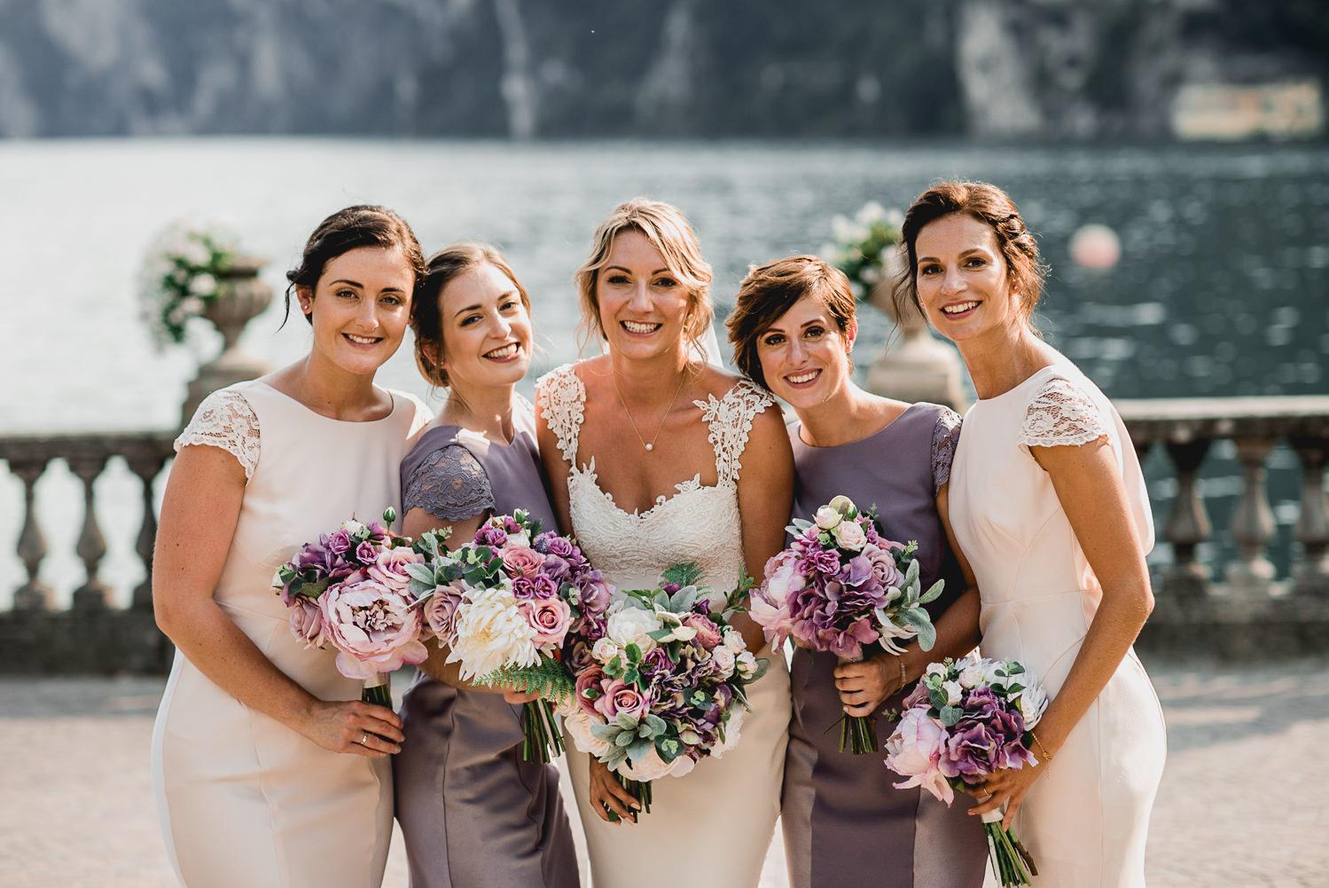bridesmaids riva del garda