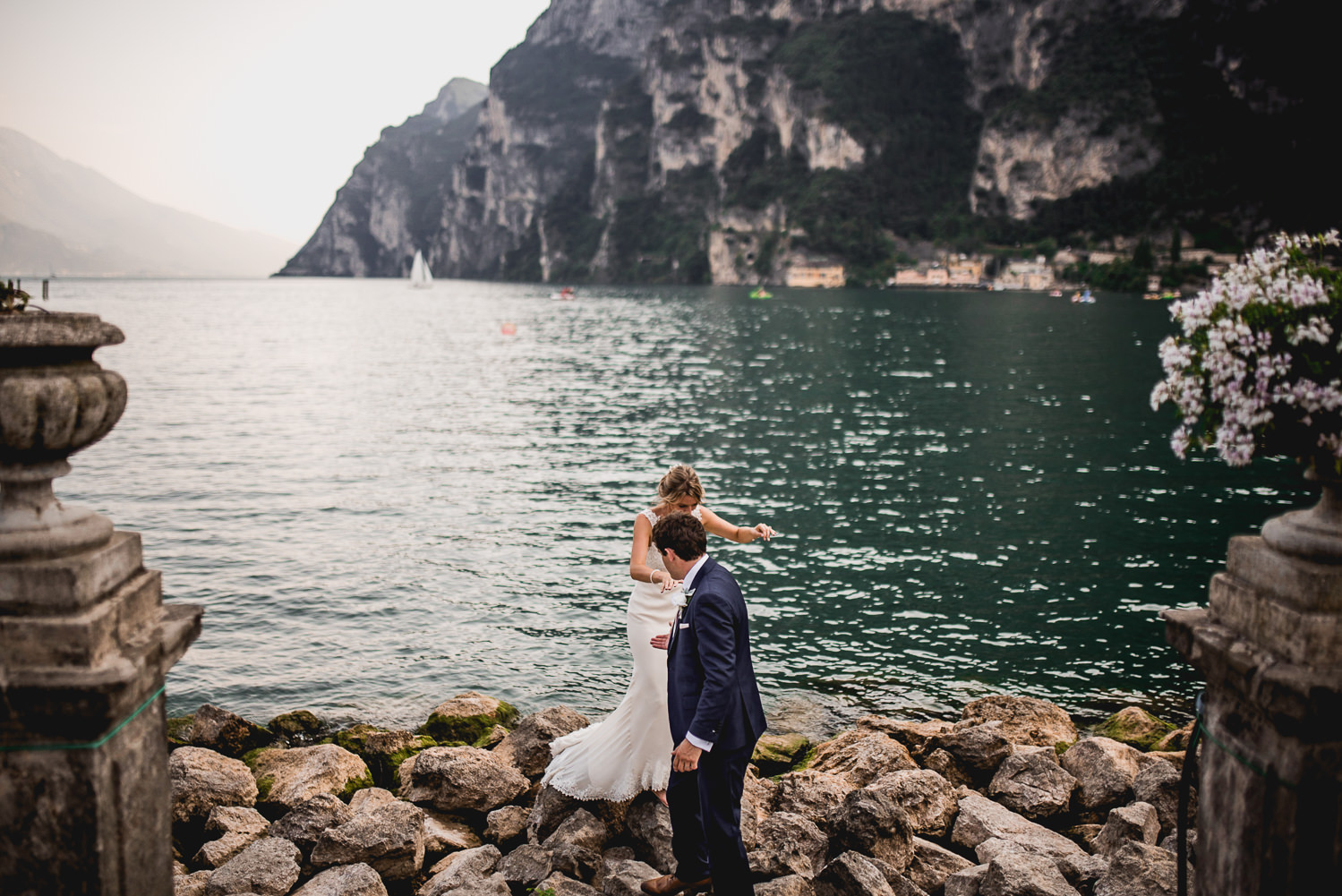 wedding photographer riva del garda