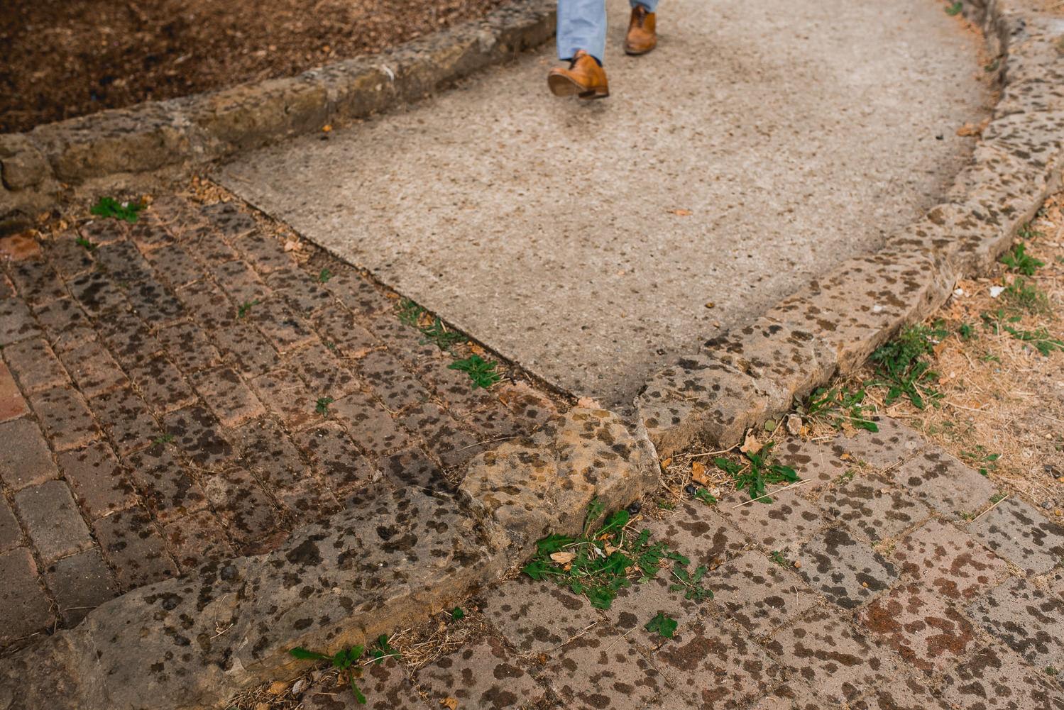 rain footstep