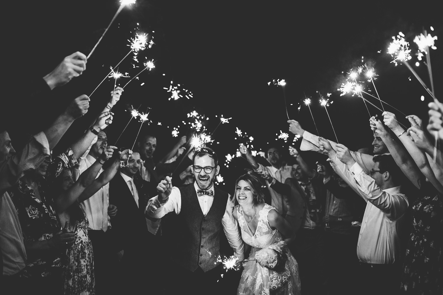 wedding sparklers kent