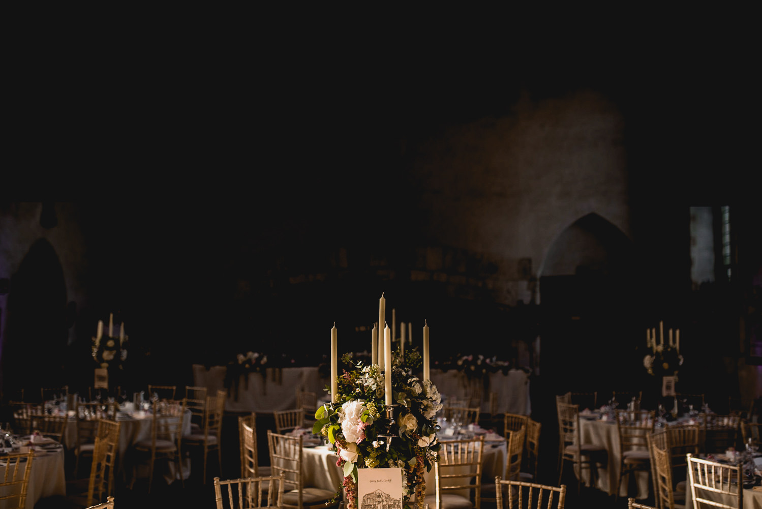 Dartington Hall Wedding Photographer tables