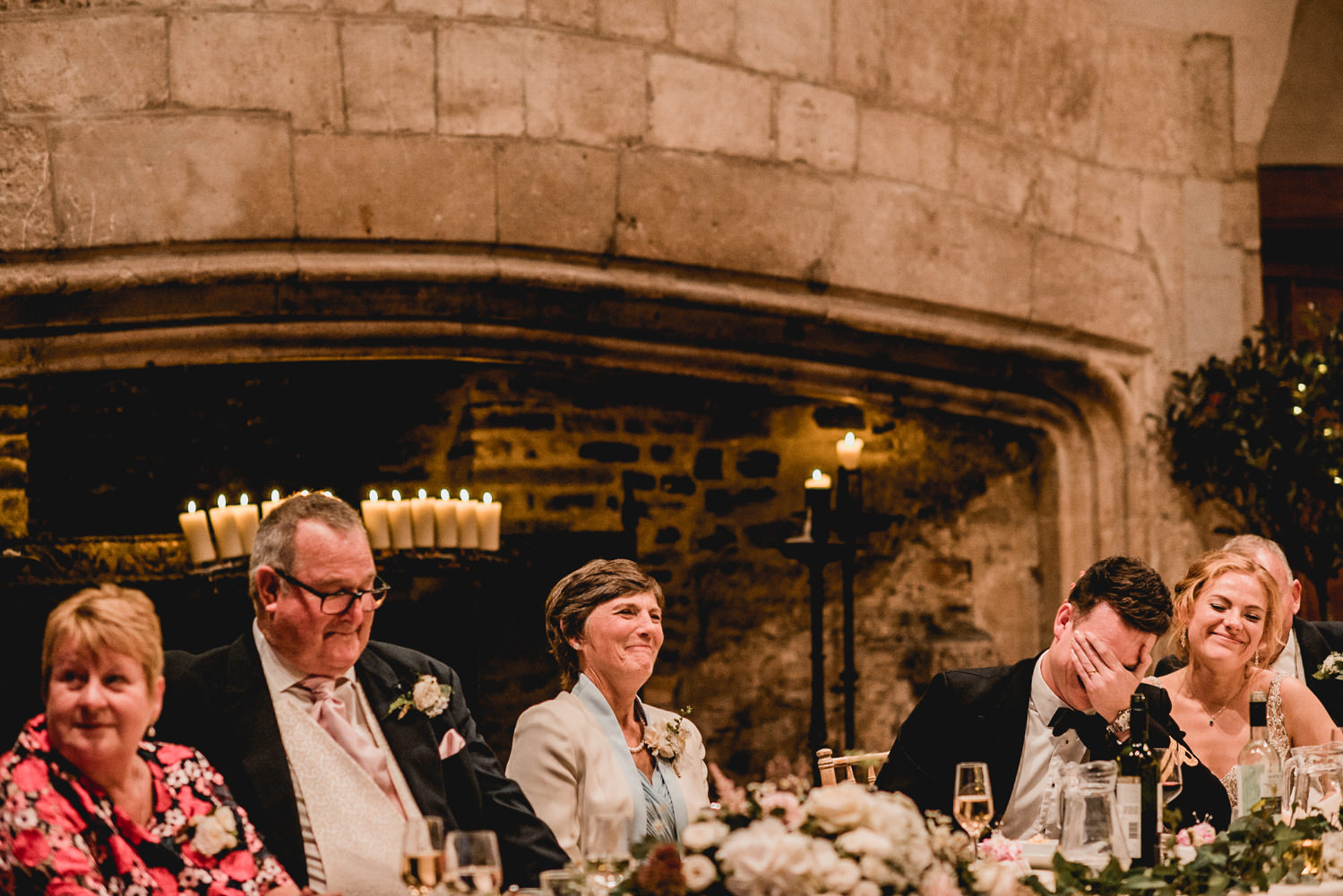 Speeches at Dartington Hall Wedding