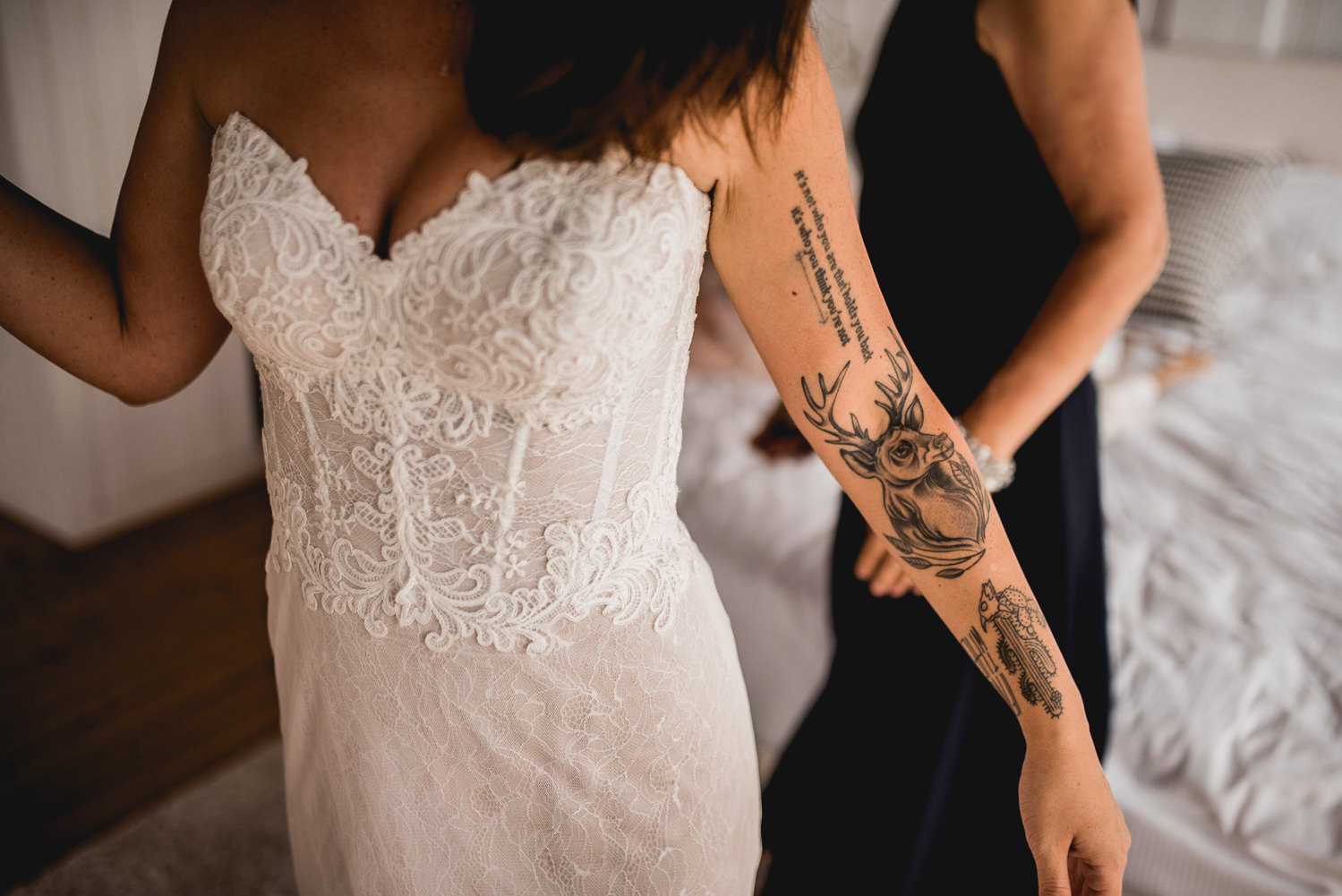 tattoo bride lake como