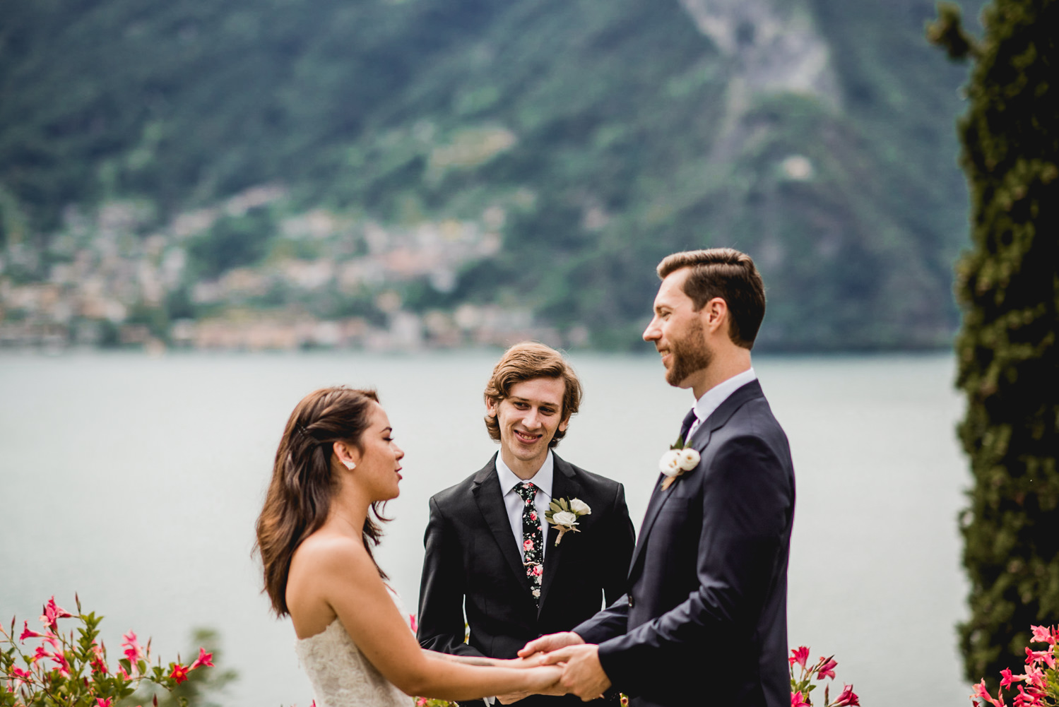 intimate lake como destination wedding