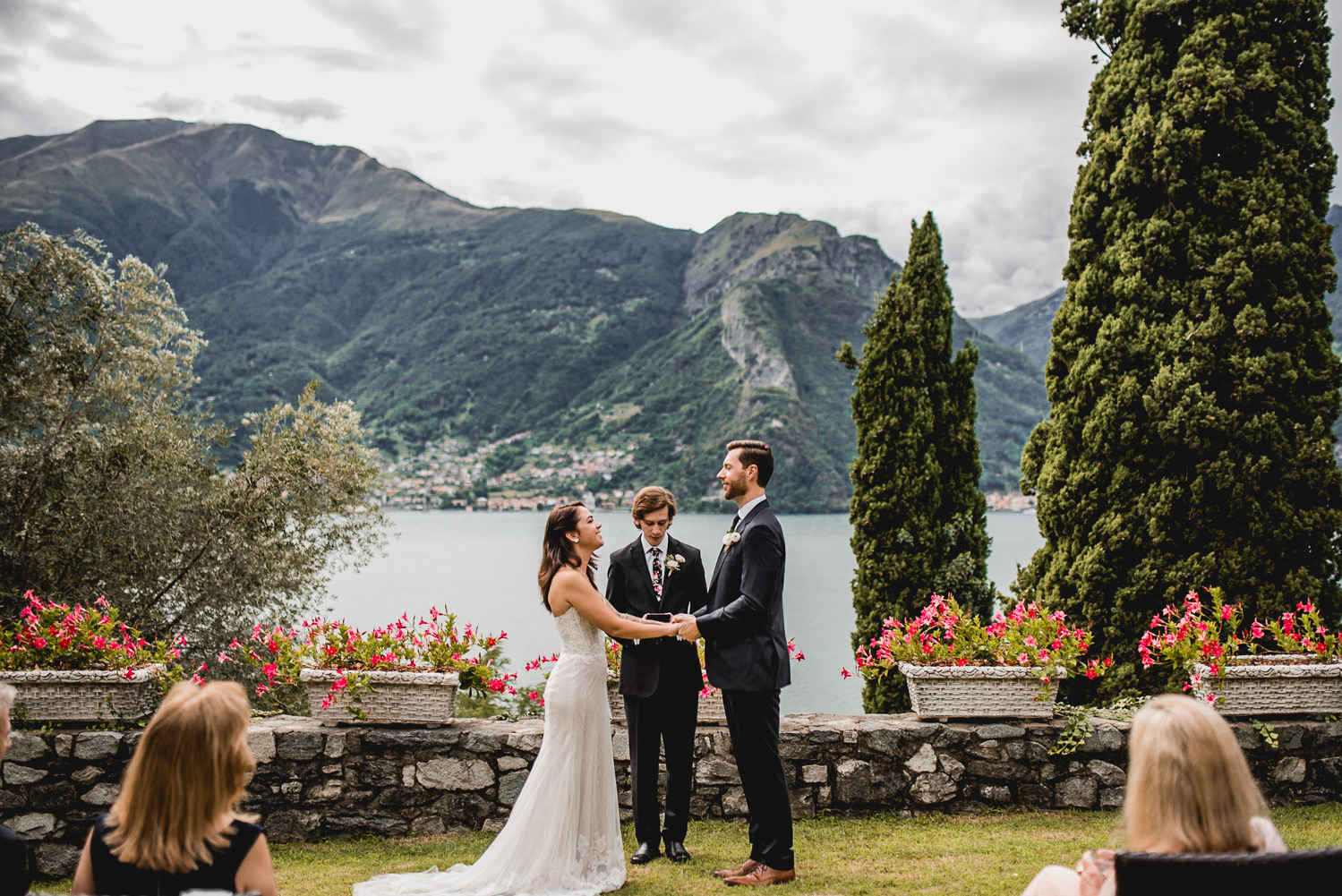 intimate lake como celebration