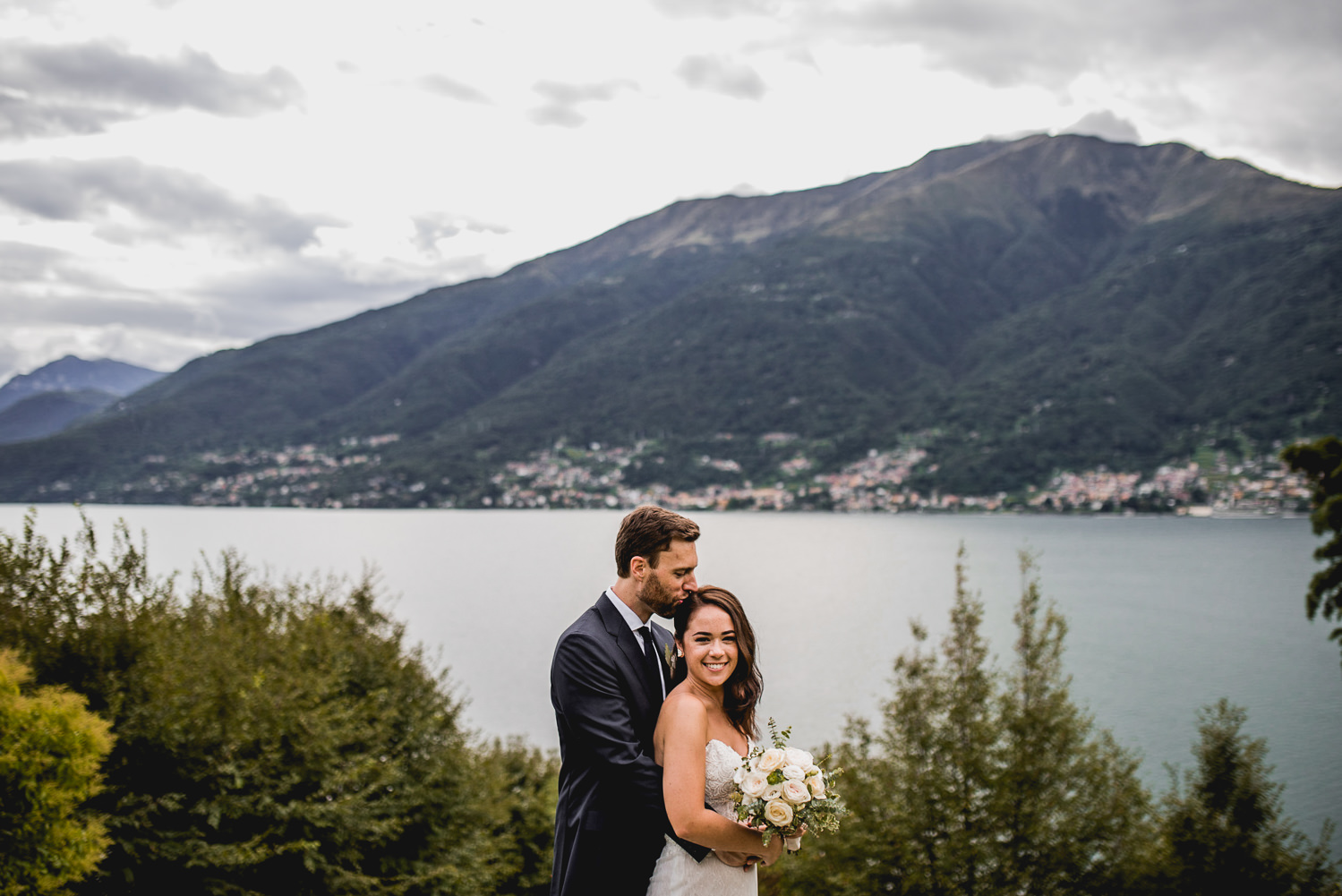 married by lake como
