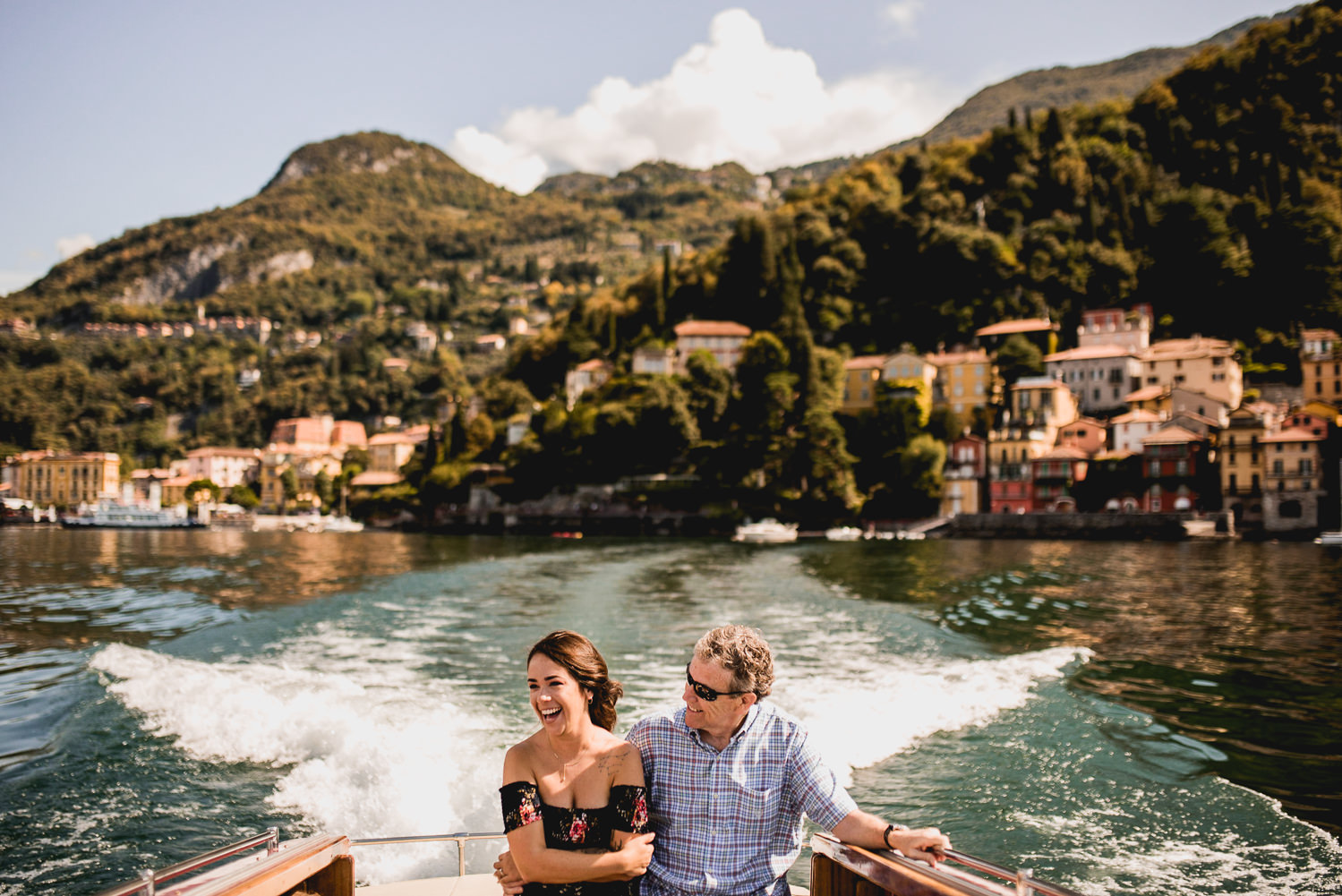 boat ride lake como