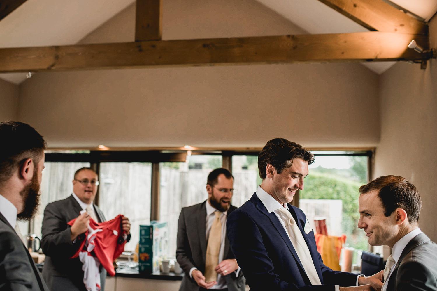 groom prep at trevenna