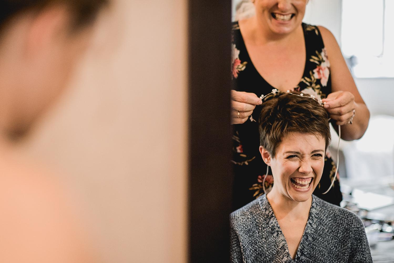 bride hair mirror trevenna
