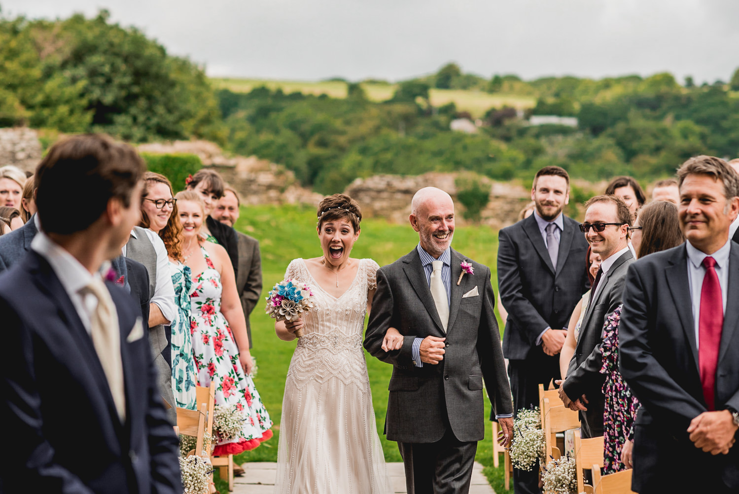 walking down the aisle trevenna