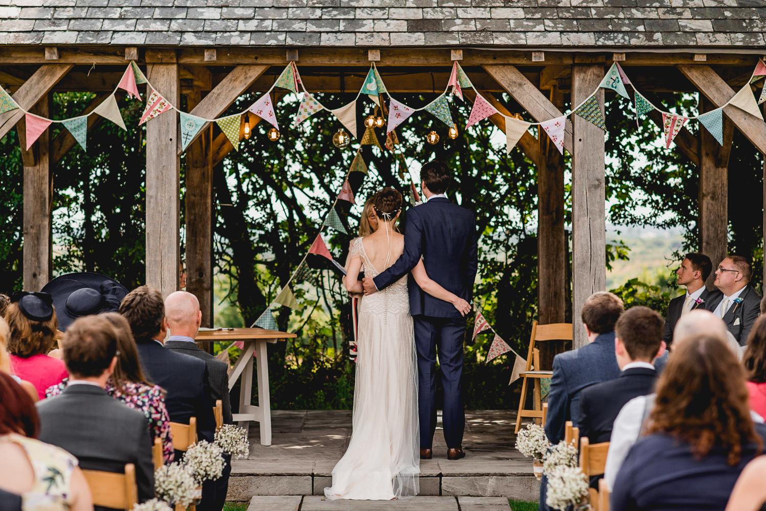civil ceremony outdoor cornwall