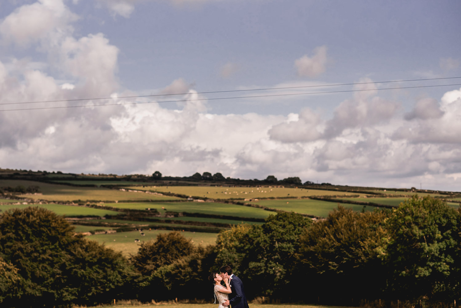 bride and groom photos trevenna