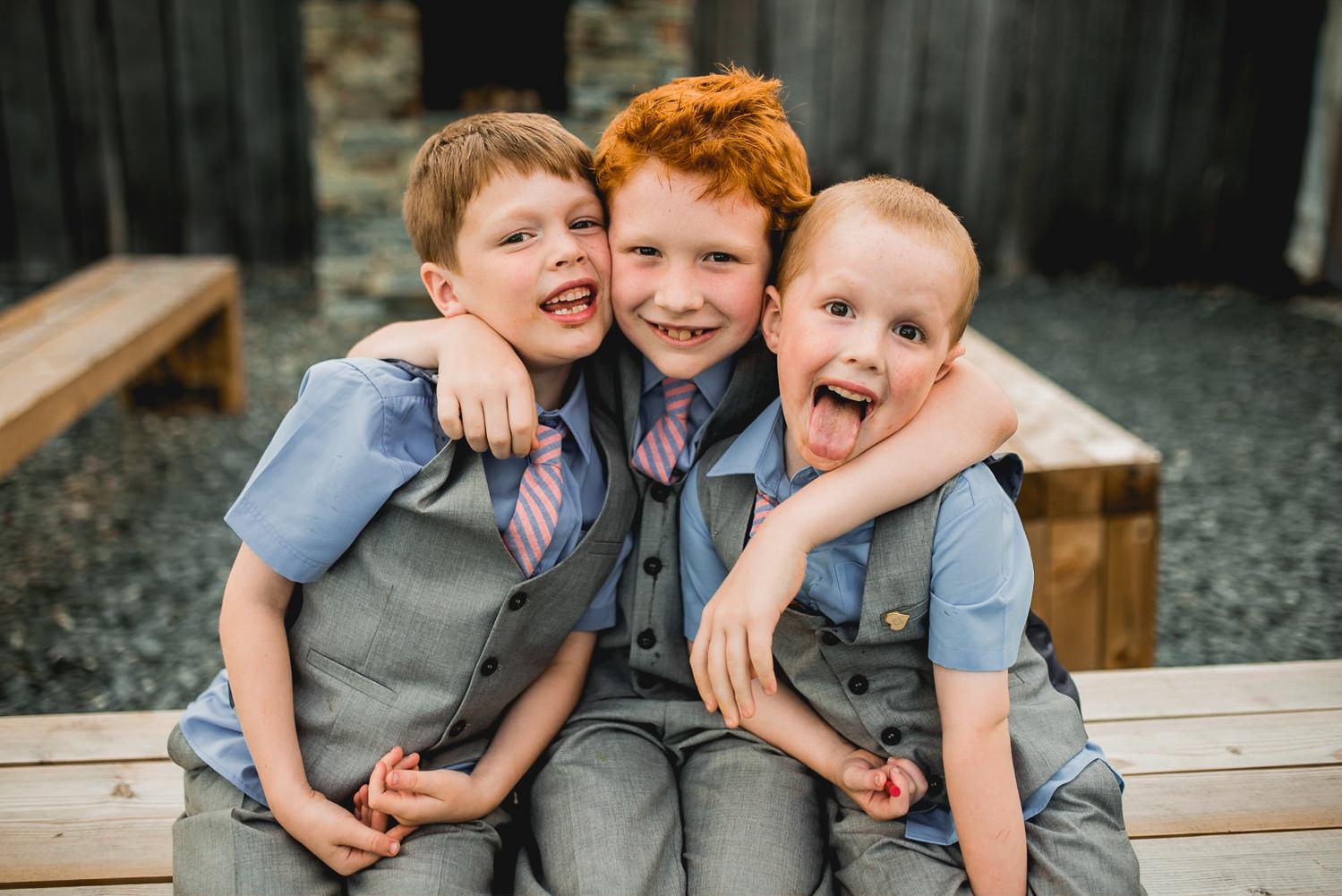 kids having fun photo at trevenna