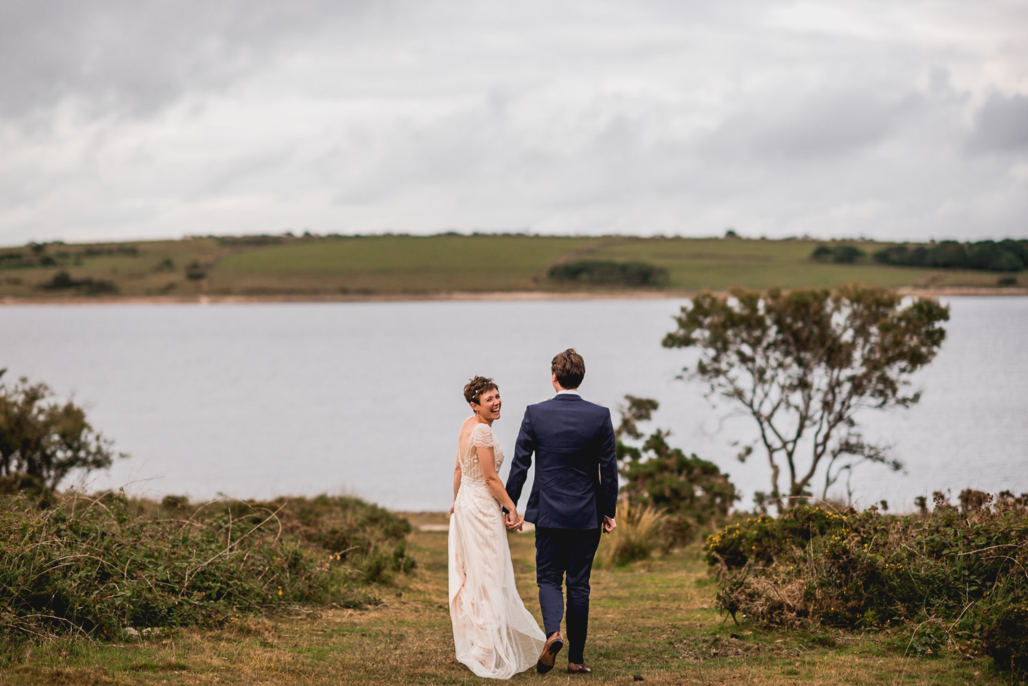 bride and groom st neot trevenna cornwall