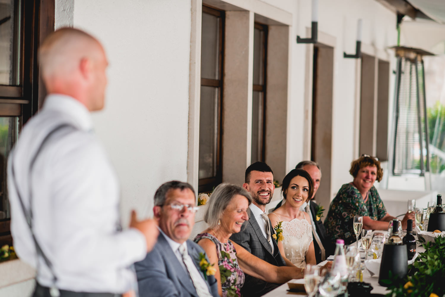 wedding speech in italy