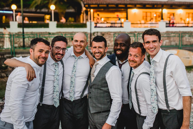 groomsmen lake garda