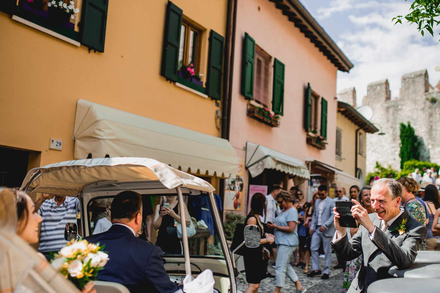 Malcesine Weddings Taxi