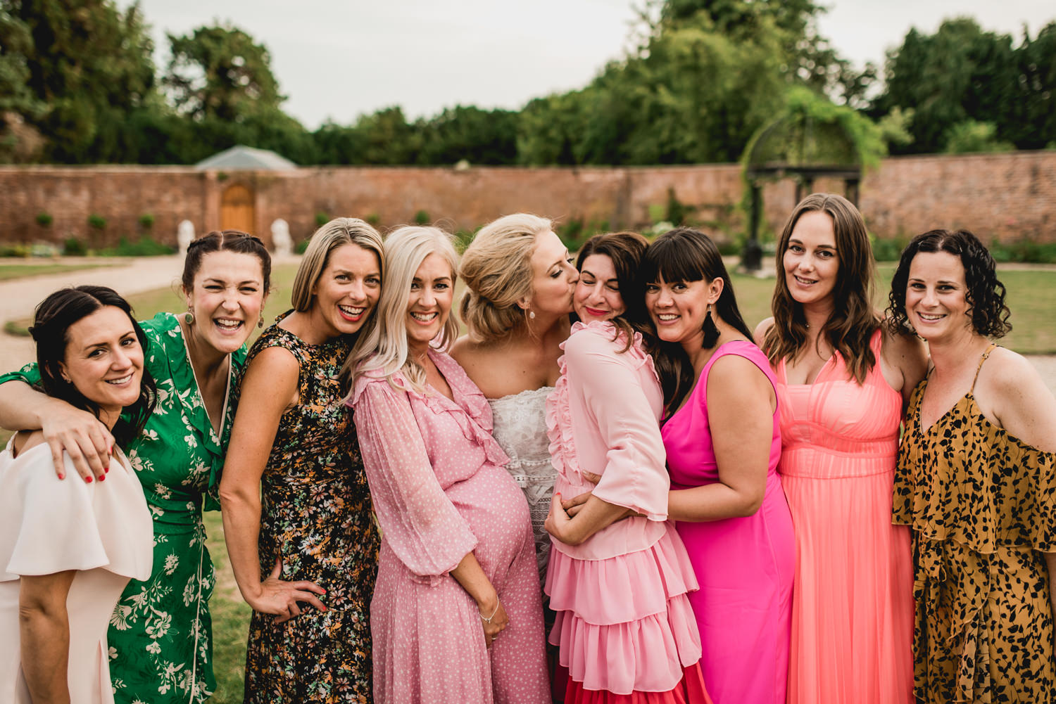 Orchardleigh Estate Wedding Girls