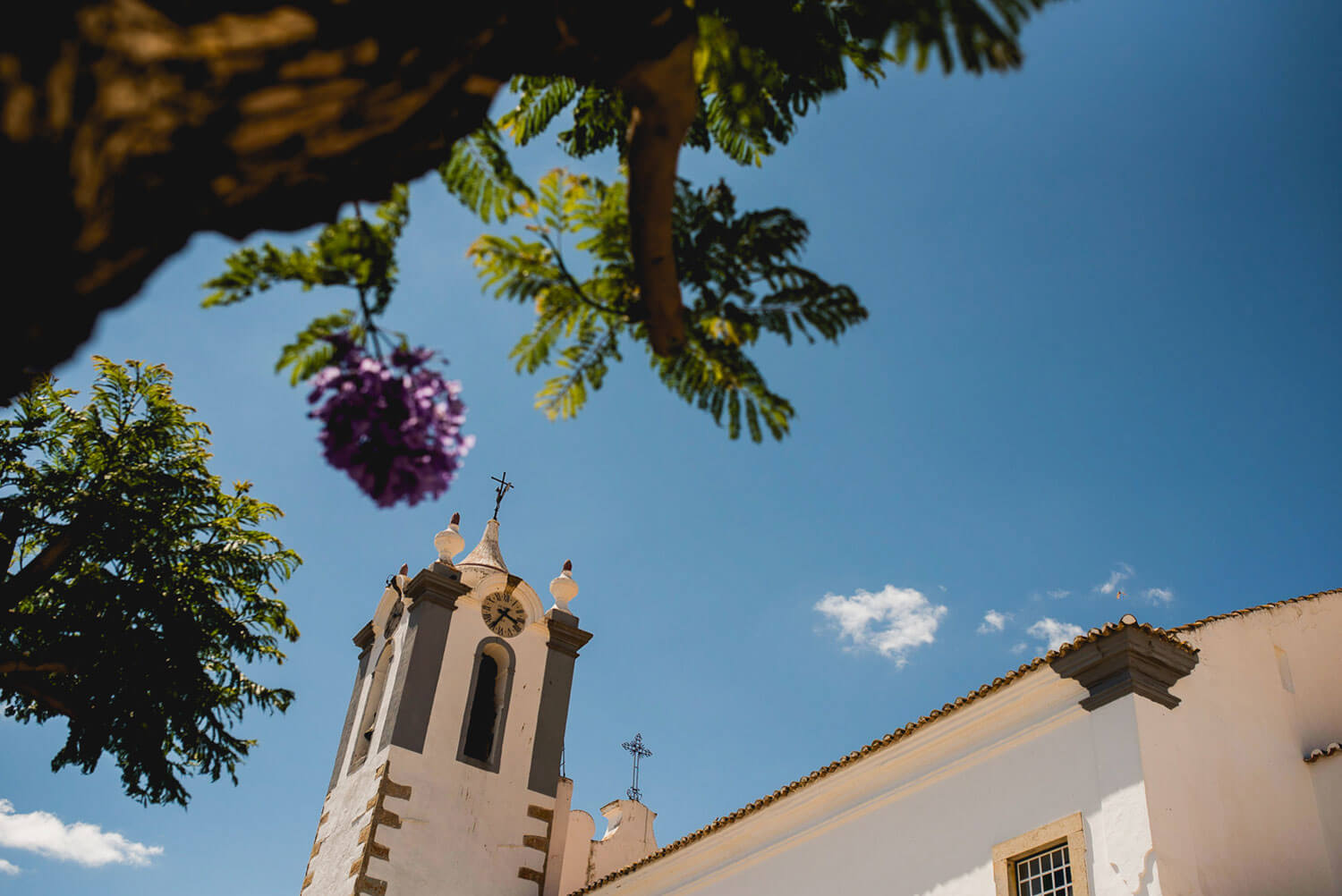 destination algarve wedding church