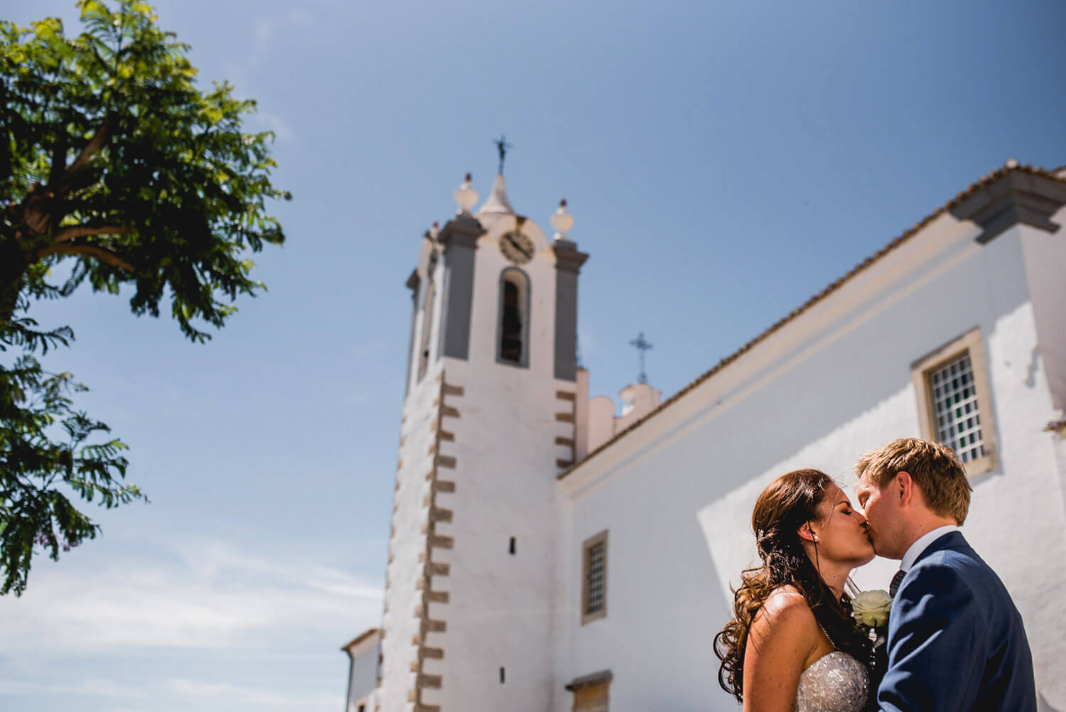 Algarve Wedding Faro Estoi Kiss