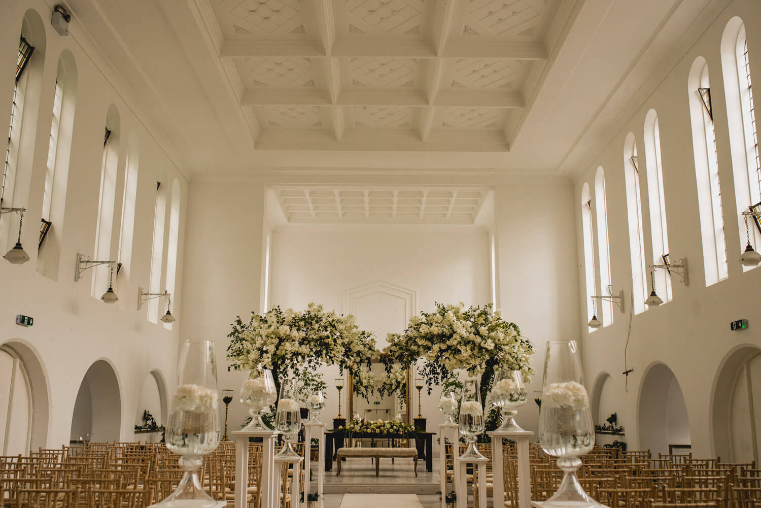 Gloster House Wedding Venue Church
