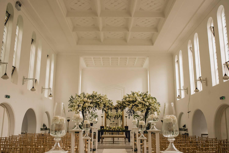 Gloster House Wedding Venue Church