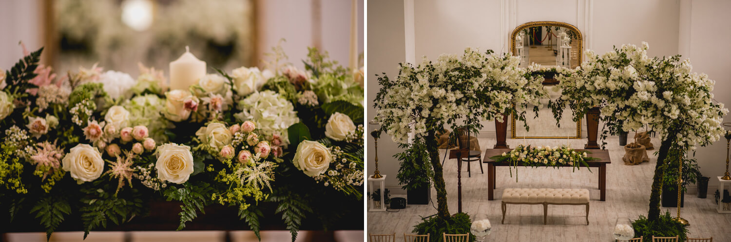 Gloster House Wedding Flowers