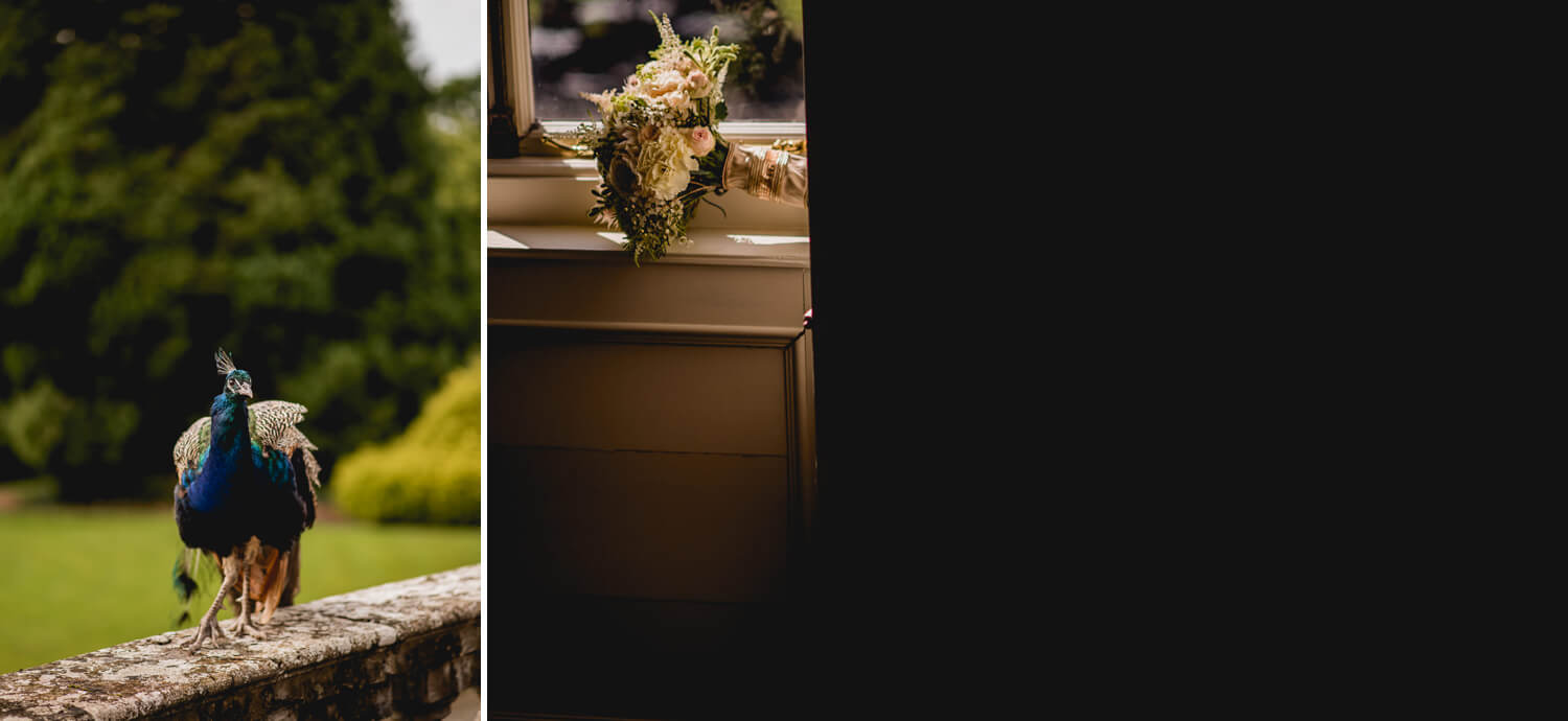 Flowers Gloster House Wedding