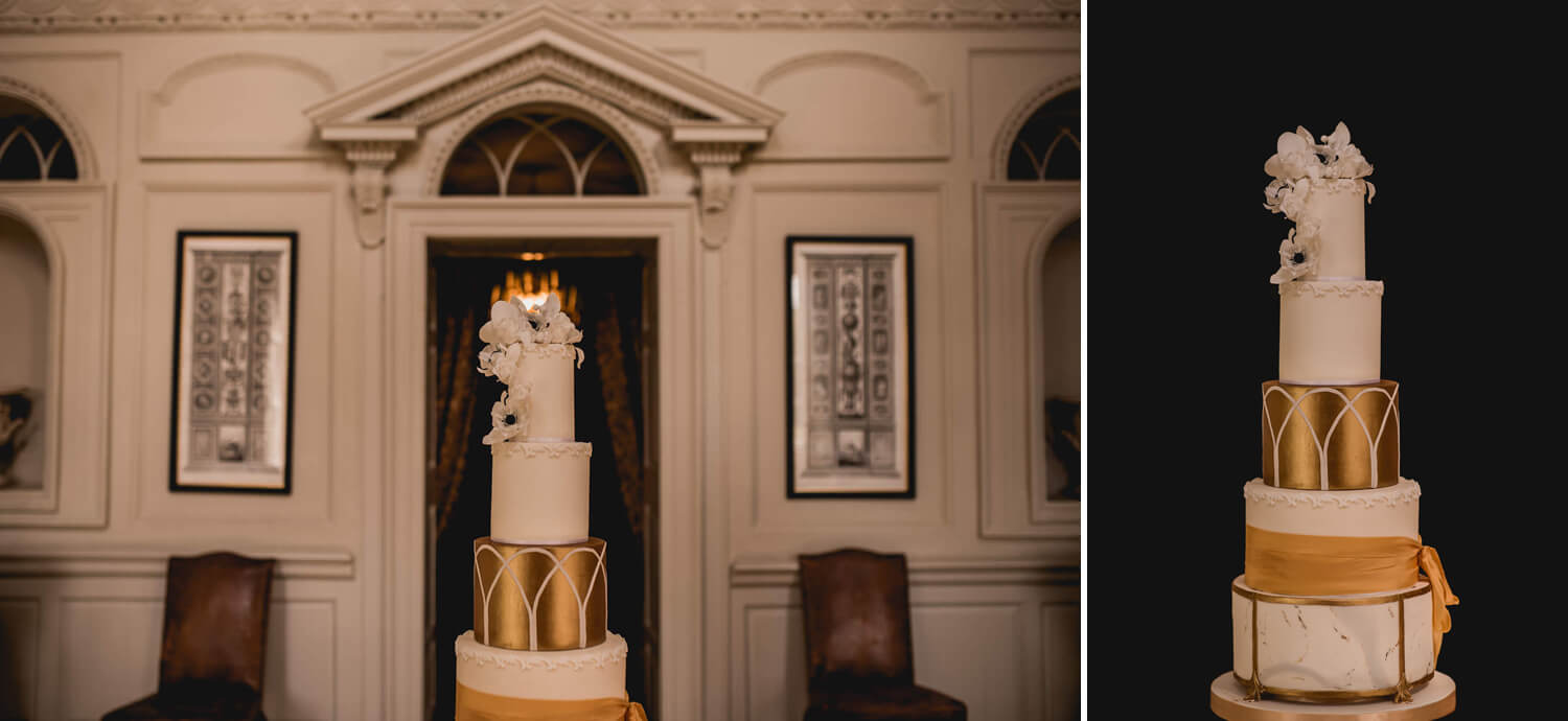 Cake Gloster House Wedding
