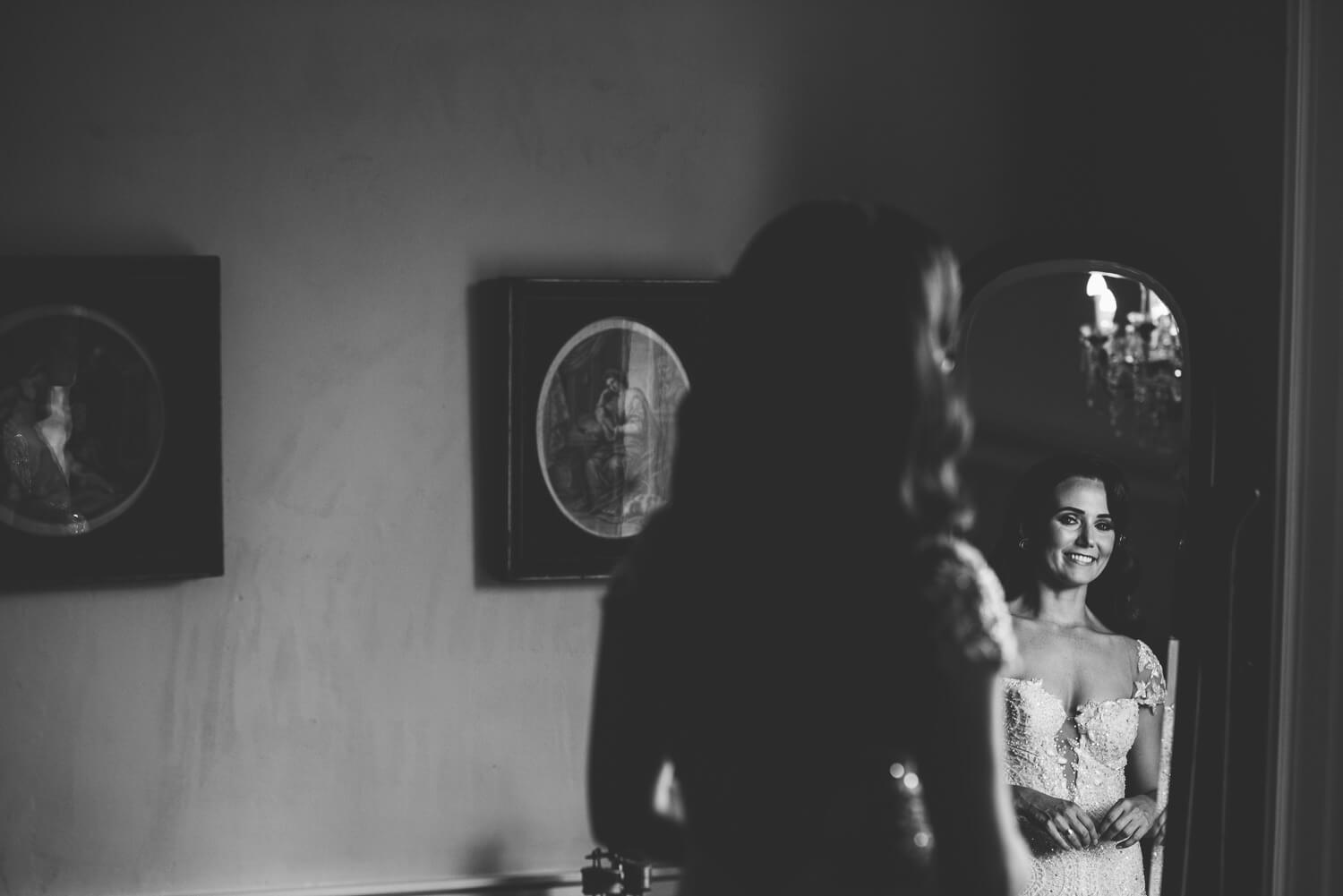 Bride at Gloster House Wedding