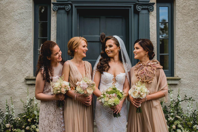 Bridesmaids Gloster House Wedding Ireland