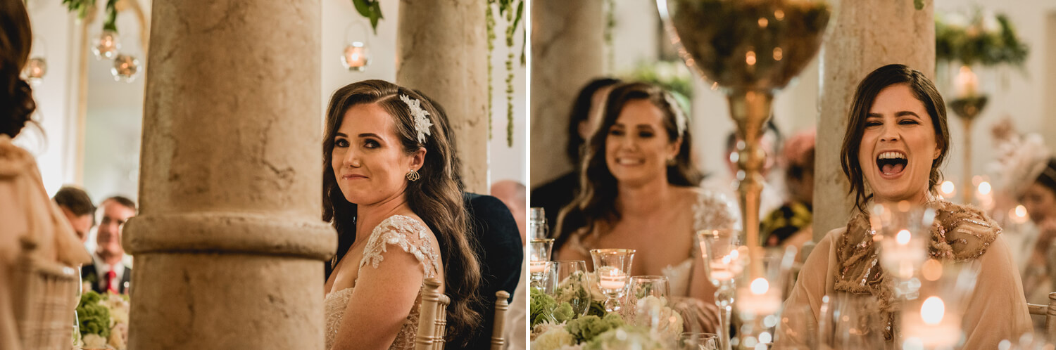 bride reactions at gloster house