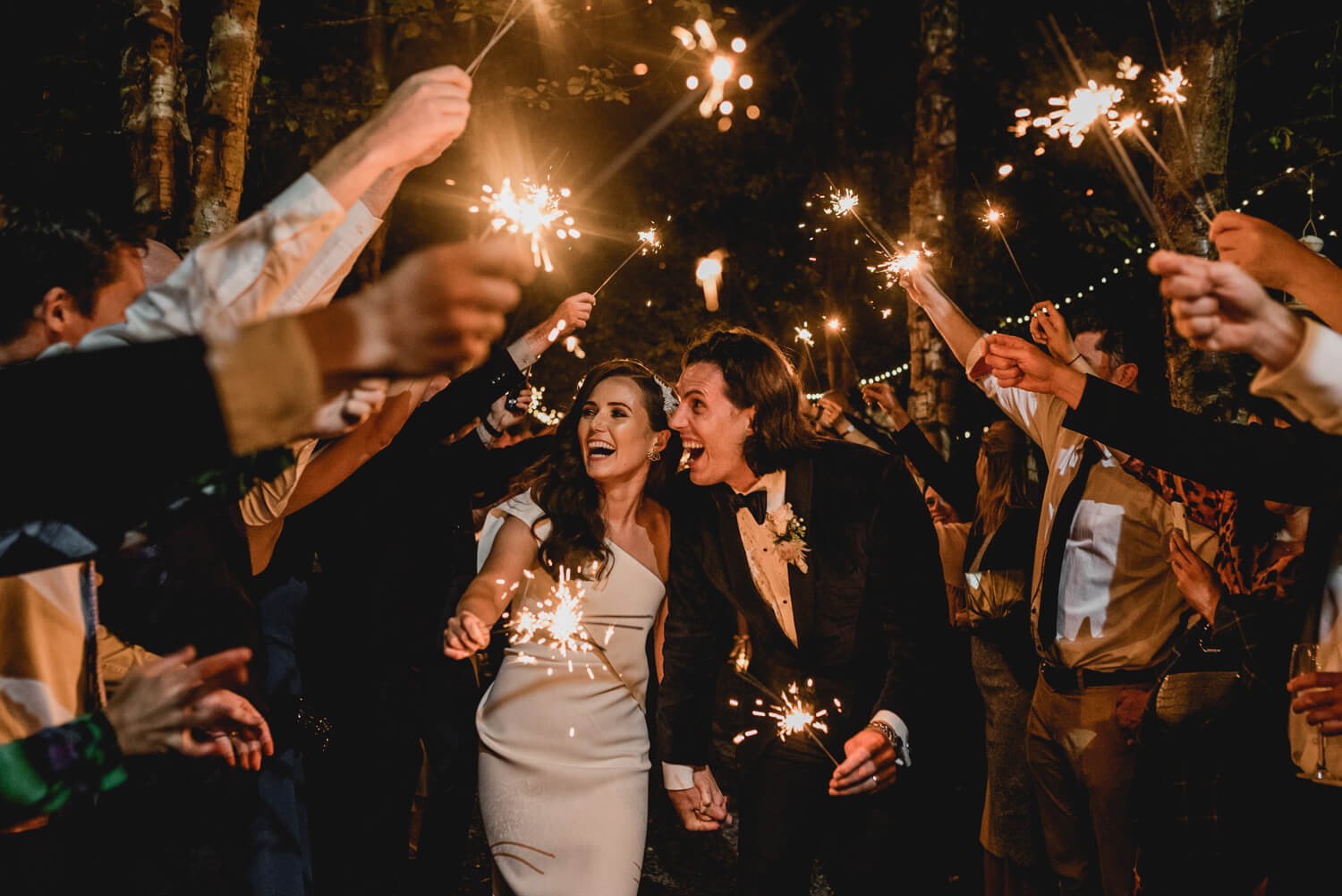 Sparklers at Gloster House
